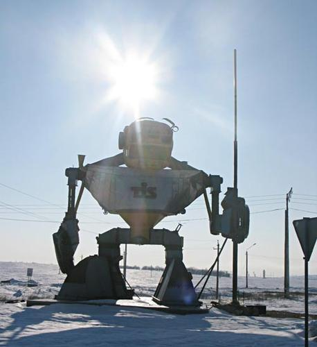 Huge Autobot guard from Ukraine