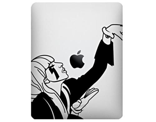 Lady Gaga iPad Dacals
