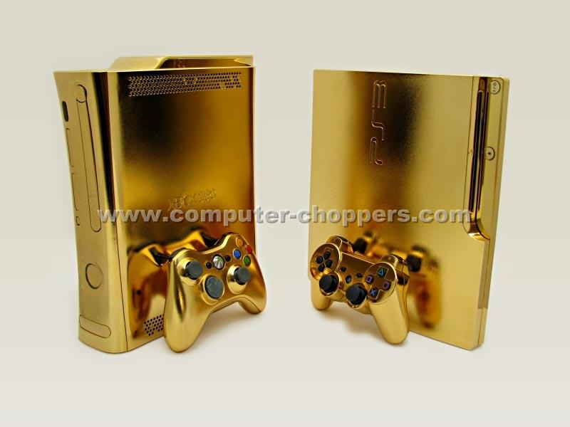 Xbox 360 Controller Diamond Golden Xbox 360 Mod by