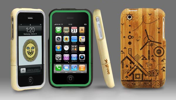 Custom wooden iPhone case by Grove
