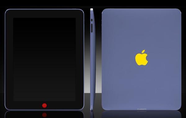 Through ColorWare custom iPad color