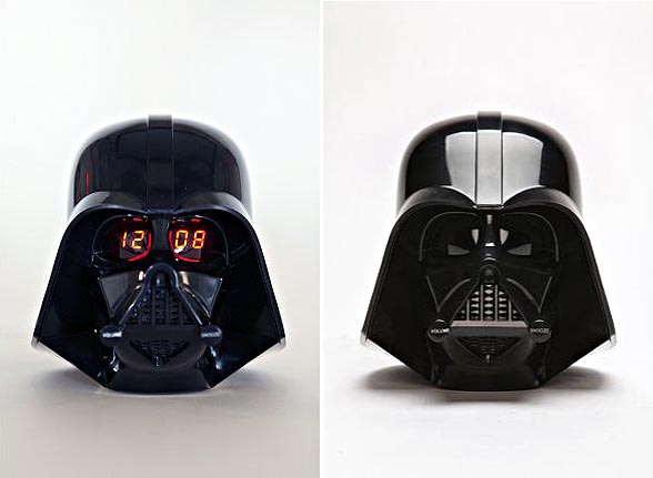 Darth Vader Alarm Clock for the Lazy Morning