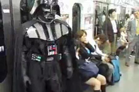 Darth Vader in Tokyo
