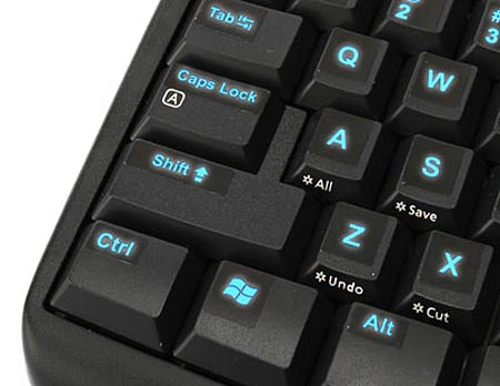 Glowing Keyboard Stickers for Dark Operations