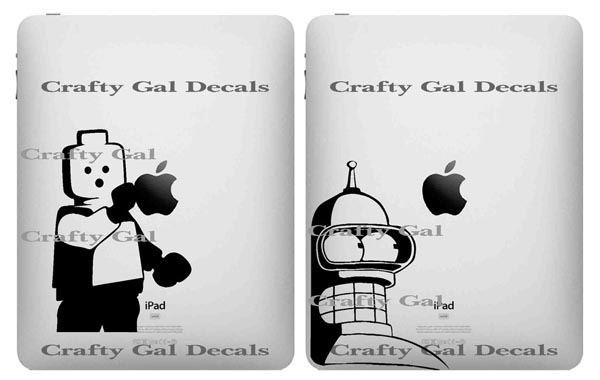 Handcrafted iPad Decals by CraftyGalDecals