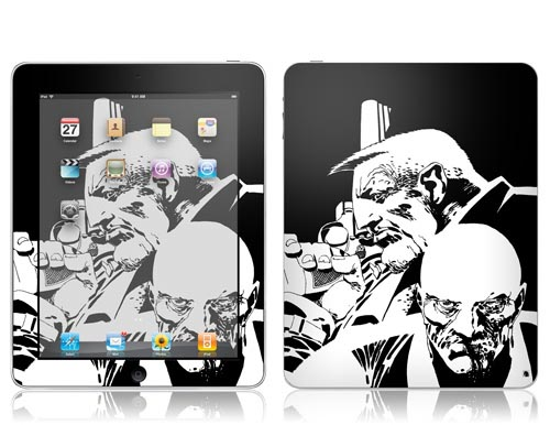 iPad Skin Themed by Frank Miller Comics