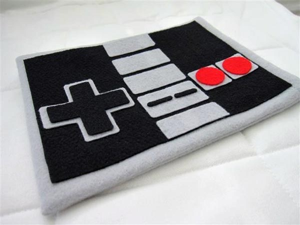 iPad Sleeve Shaped as Nintendo NES Controller