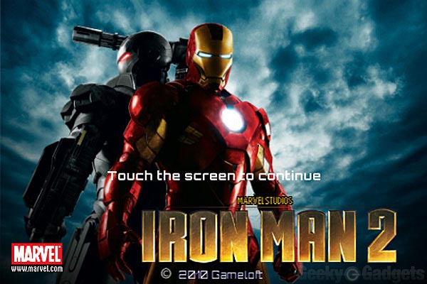 Iron Man 2 iPhone Game Realeased in UK