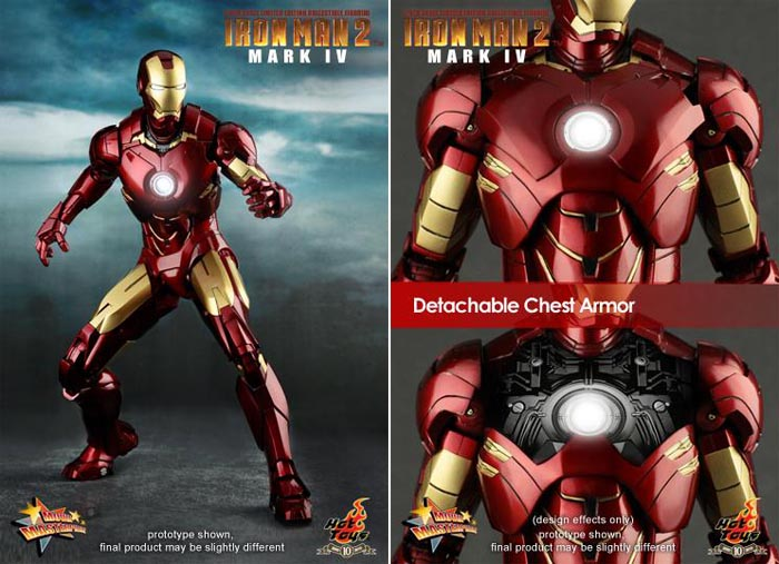 Iron Man 2 Mark Iv Action Figure By Hot Toy Gadgetsin