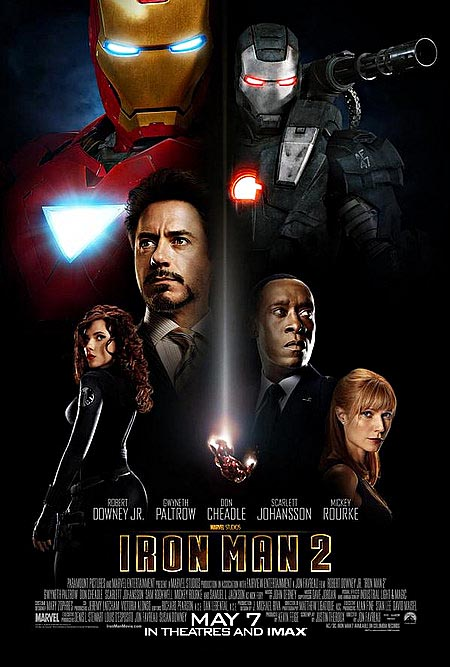 The latest iMax Iron Man 2 trailer and theatrical poster