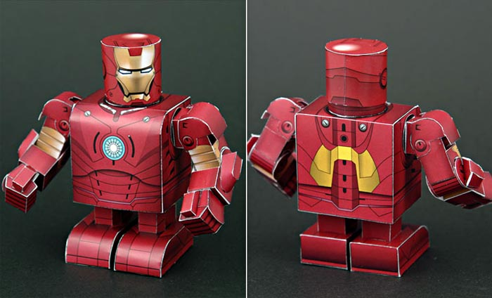 Make Your Own Papercraft Through Sf Paper Craft Gallery