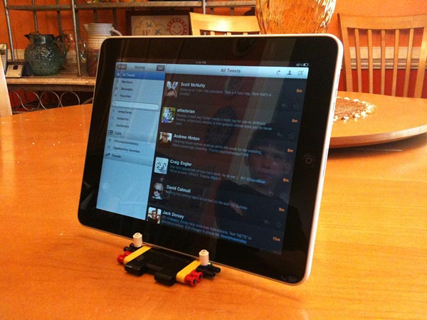 LEGO iPad Stand by Corey Marion