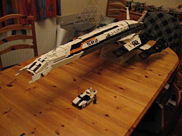 LEGO Mass Effect 2 SSV Normandy SR-2 By Ben Fellowes