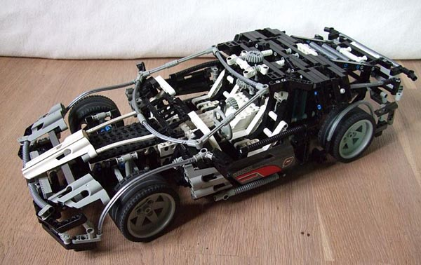 LEGO Supercar 2010 by Marvin