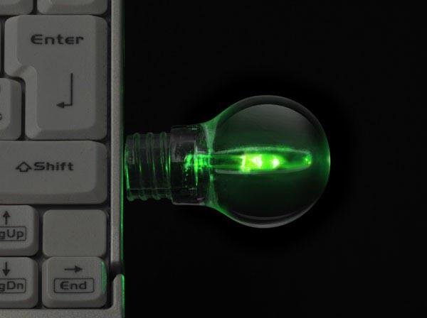 Light Bulb Usb Flash Drive Gadgetsin