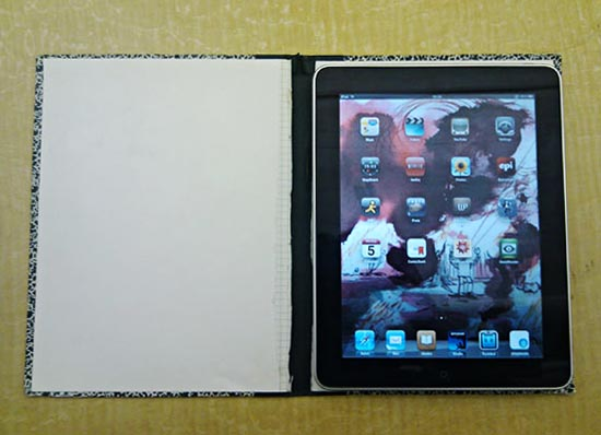 Make your own iPad case