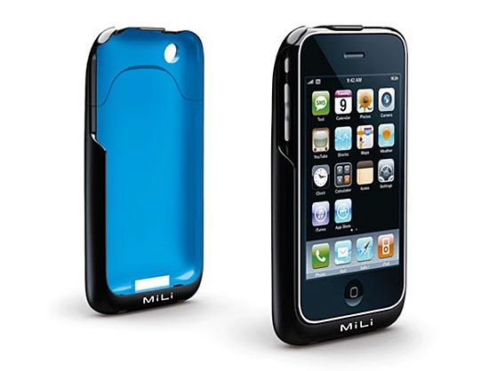 MiLi Power Skin iPhone case doubled as an external battery