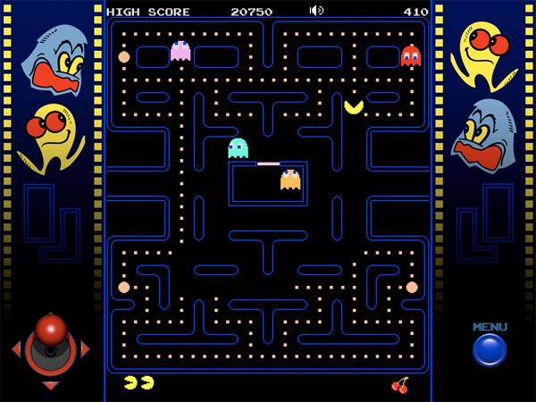 Pacman for iPad