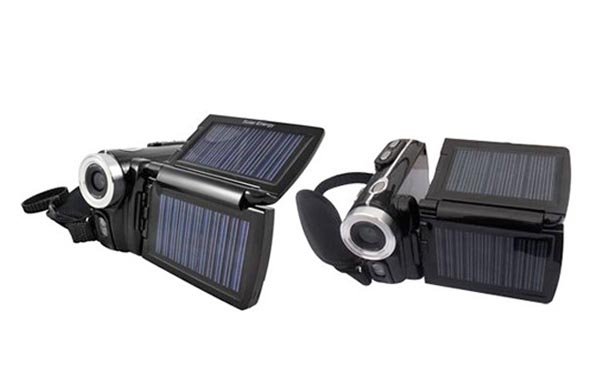 Partly Solar Powered Camcorder Jetyo HDV-T900