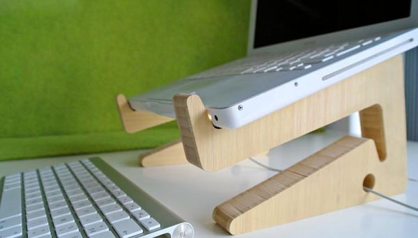 Puzzle Bamboo Eco-friendly Wooden Laptop Stand