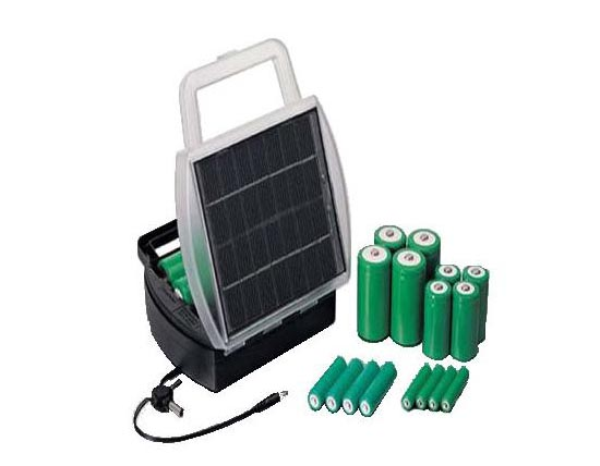 Solar Charger for Rechargeable Battery