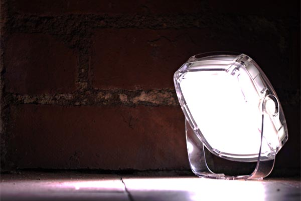 Solar Pebble Eco-friendly Lamp Powered by Sun