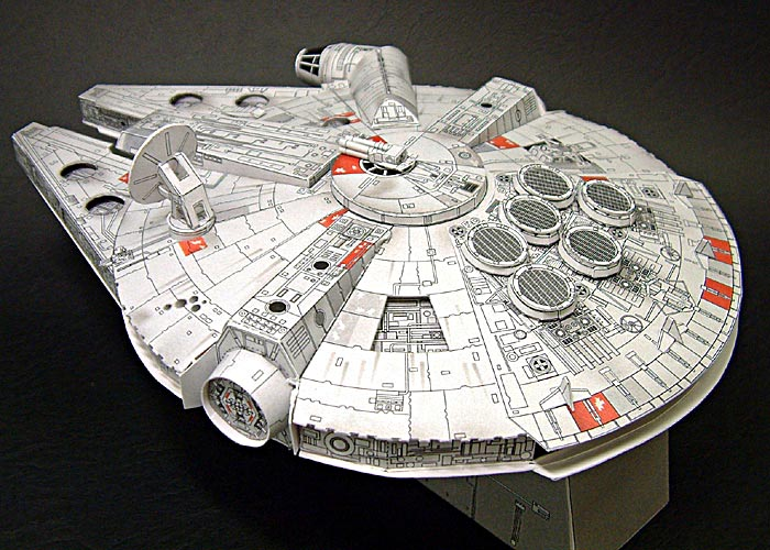 star wars millennium falcon papercraft Paper Crafts Star Wars