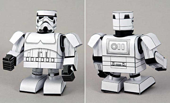 Make Your Own Papercraft Through SF Paper Craft Gallery ...