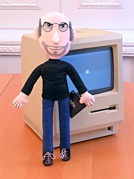 Steve Jobs Plush Doll