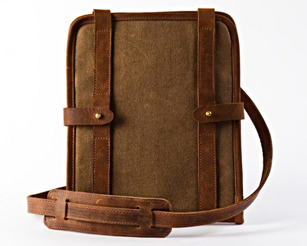 Leather iPad Case by Temple Bags