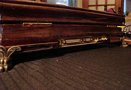 Victorian Steampunk Laptop by the Retro-Spector