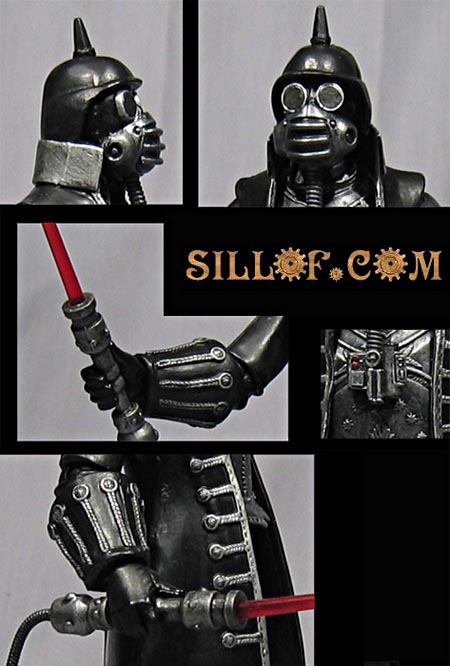 Victorian Steampunk Star Wars Figures By Sillof Gadgetsin