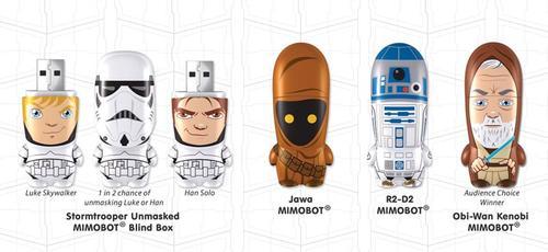Latest Mimoco Star Wars Mimobot Flash Drives