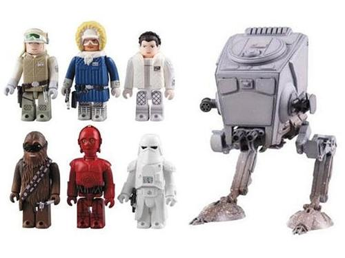 New Star Wars Kubricks Series with AT-ST Walker