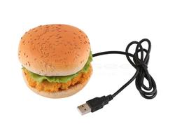 Delicious USB 4-Port Hub Shaped As Chicken Burger