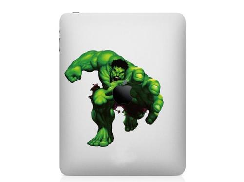 Incredible Hulk Full Color iPad Decal
