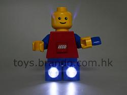 Giant LEGO Minifig and Brick Doubles as LED Flashlights