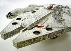 star wars millennium falcon papercraft