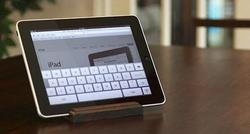 GroovyStand Wooden iPad Stand