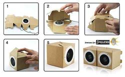 Foldable paper speaker designed by yourself