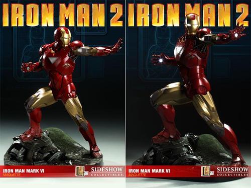 Sideshow Collectibles Iron Man Mark VI Maquette
