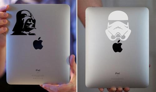 Darth Vader and Stormtrooper iPad Decals