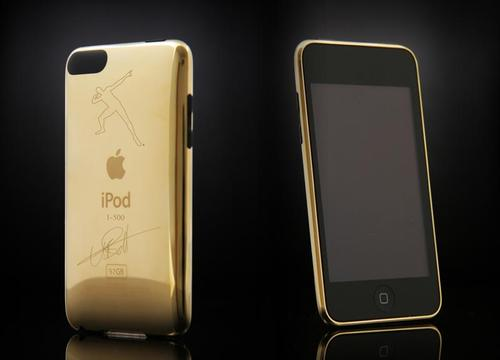 Limited Edition Usain Bolt Signature Gold iPod Touch