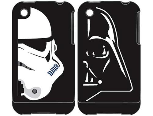 New iPhone Case Themed by Darth Vader and Stormtrooper Helmet