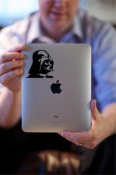 Darth Vader and Stormtrooper iPad Decals