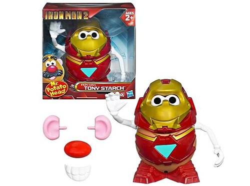 Mr. Potato Head Iron Man 2 Tony Starch