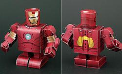 iron man papercraft