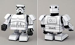 star wars stormtrooper papercraft