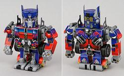 transformers optimus prime papercraft