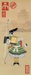 Samurai Star Wars in Edo Ukiyoe - Boba Fett